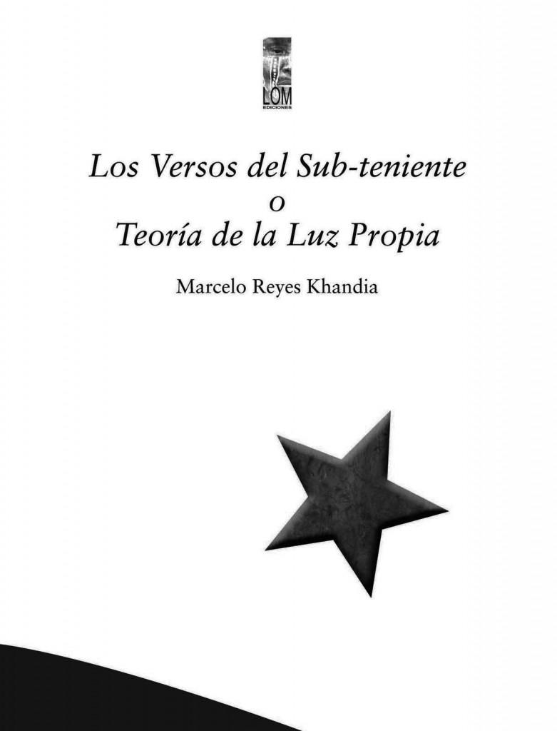 Los versos del sub-teniente o teoría de la luz propia (alta)